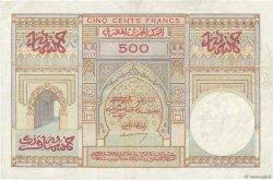 500 Francs MAROC  1950 P.46 pr.SUP