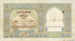 1000 Francs type 1921 MAROC  1939 P.16c pr.TB