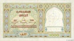 1000 Francs type 1921 MAROC  1946 P.16c TTB+