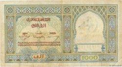 1000 Francs type 1921 MAROC  1950 P.16c TB