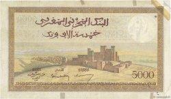 5000 Francs type 1937 MAROC  1945 P.23c TB+