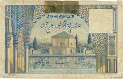 10000 Francs MAROC  1953 P.50 AB