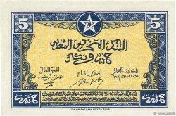 5 Francs MAROC  1943 P.24 SPL