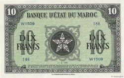 10 Francs type 1944 MAROC  1944 P.25a NEUF
