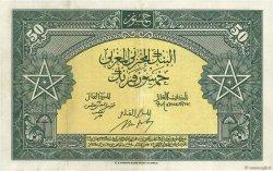 50 Francs MAROC  1943 P.26a TTB+