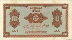 1000 Francs type 1944 MAROC  1944 P.28a TTB