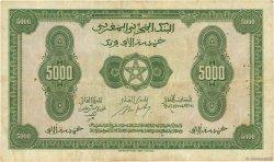 5000 Francs type 1943 MAROC  1943 P.32a pr.TTB