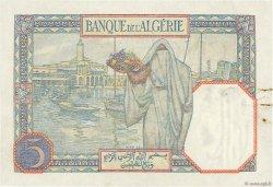 5 Francs TUNISIE  1939 P.08b SUP