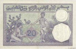 20 Francs type 1912 TUNISIE  1938 P.06b pr.SUP