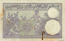 20 Francs type 1912 TUNISIE  1941 P.06b TB+