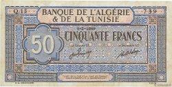 50 Francs TUNISIE  1949 P.23 TTB+