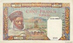 100 Francs TUNISIE  1942 P.13b pr.SUP