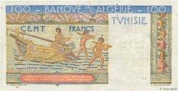 100 Francs type 1946 Hermes TUNISIE  1947 P.24 TTB+