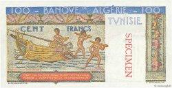 100 Francs type 1946 Hermes TUNISIE  1947 P.24s SPL