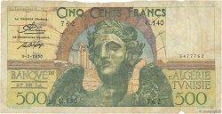 500 Francs TUNISIE  1950 P.28 B+