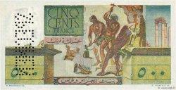 500 Francs TUNISIE  1950 P.28s pr.NEUF