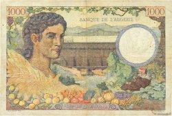1000 Francs TUNISIE  1942 P.20b TTB
