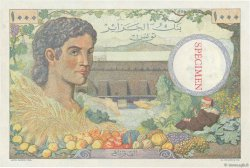 1000 Francs TUNISIE  1946 P.26s pr.NEUF