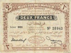 2 Francs TUNISIE  1918 P.34 TTB+