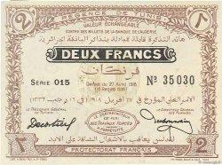 2 Francs TUNISIE  1918 P.37c SPL
