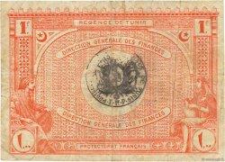 1 Franc TUNISIE  1920 P.49 TB+