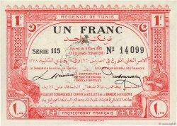 1 Franc TUNISIE  1920 P.49 SPL+