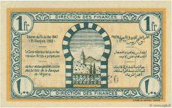 1 Franc TUNISIE  1943 P.55 pr.NEUF