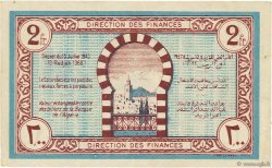 2 Francs TUNISIE  1943 P.56 SPL
