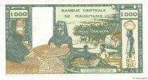 1000 Ouguiya MAURITANIE  1973 P.03a SPL+