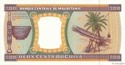 200 Ouguiya MAURITANIE  1992 P.05d NEUF