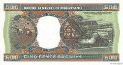 500 Ouguiya MAURITANIE  1985 P.06c NEUF
