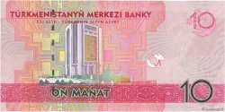 10 Manat TURKMÉNISTAN  2012 P.31 NEUF