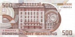 500 Schilling AUTRICHE  1985 P.151 SUP+