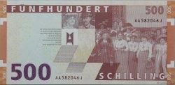 500 Schilling AUTRICHE  1997 P.154 NEUF