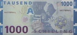 1000 Schilling AUTRICHE  1997 P.155 SPL