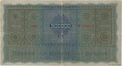 500000 Kronen AUTRICHE  1922 P.084 TB+