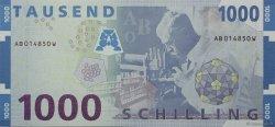 1000 Schilling AUTRICHE  1997 P.155 NEUF