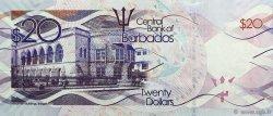 20 Dollars BARBADE  2013 P.76 NEUF