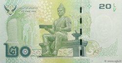 20 Baht THAÏLANDE  2013 P.124 NEUF