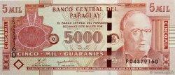 5000 Guaranies PARAGUAY  2010 P.New NEUF