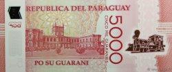 5000 Guaranies PARAGUAY  2011 P.234 NEUF