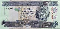 5 Dollars ÎLES SALOMON  2009 P.26 NEUF
