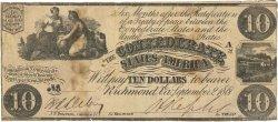 10 Dollars ÉTATS CONFÉDÉRÉS D