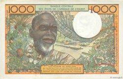 1000 Francs type 1960 NIGER  1973 P.603Hl TTB+
