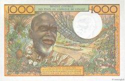 1000 Francs type 1960 NIGER  1977 P.603Hn SPL