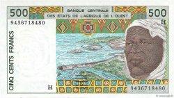500 Francs type 1991 NIGER  1994 P.610Hd NEUF