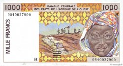 1000 Francs type 1991 NIGER  1995 P.611He NEUF