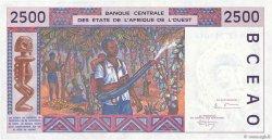 2500 Francs type 1992 NIGER  1994 P.612Hc SPL