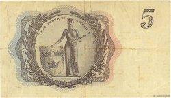5 Kronor SUÈDE  1956 P.42c pr.TTB