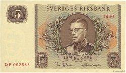 5 Kronor SUÈDE  1960 P.42e pr.NEUF